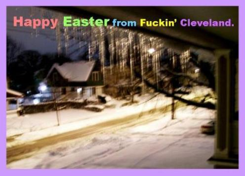 Easter in Cleveland