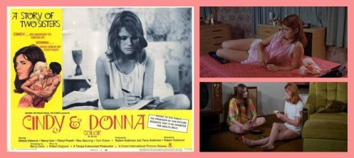 """Cindy and Donna"" --the story of young ladies learning lessons in love, lust and loss...but sleazy."