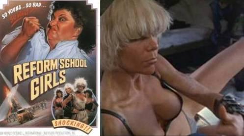 "Punk rocker, Wendy O. Williams in ""Reform School Girls"""