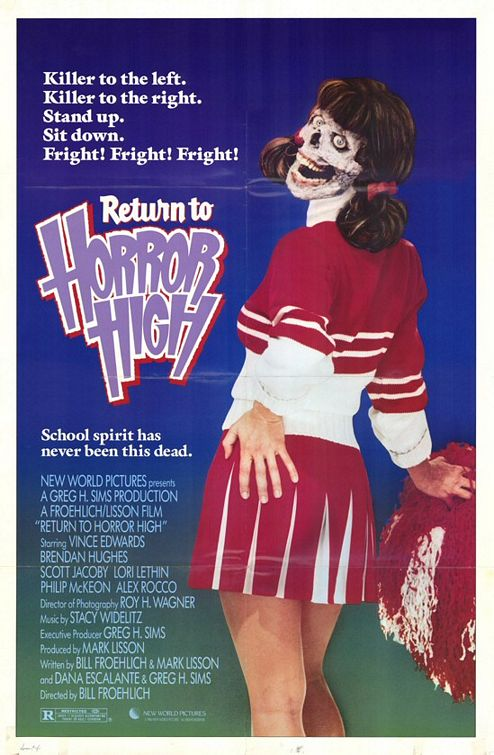 "(George Clooney doesn't want you to see...) ""Return to Horror High"""