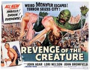 Return of the Creature lobby card