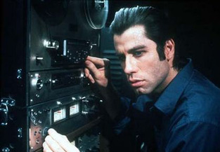 "Travolta in DePalma's ""Blow Out"" from 1981."