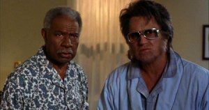 JFK (Ossie Davis) and Elvis (Bruce Campbell) ...SEEMED like a cool idea.