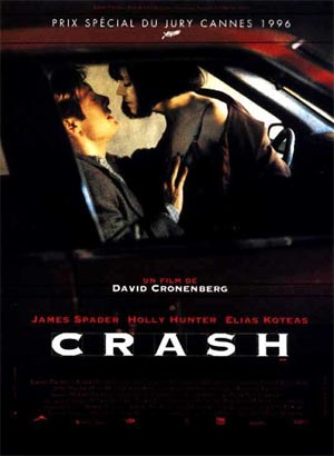 "French poster for David Cronenberg's ""Crash"""