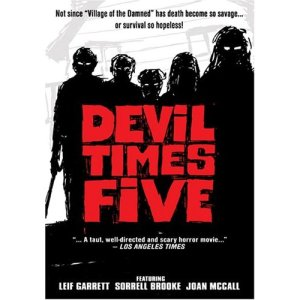"Poster Art for ""The Devil Times Five"""