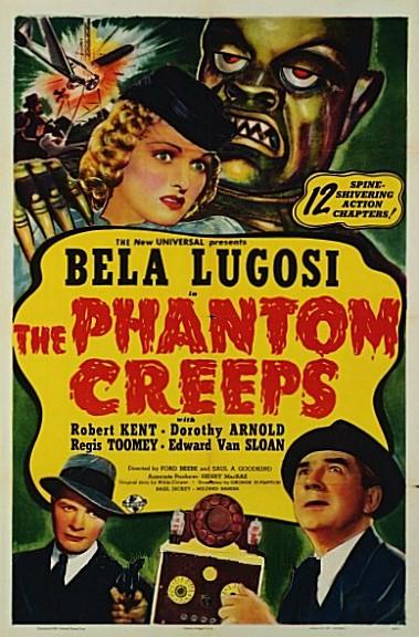"Bela Lugosi in ""The Phantom Creeps"" (1939)"
