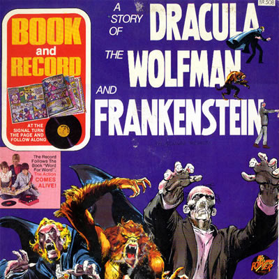 A Story of Dracula, The Wolfman & Frankenstein 001