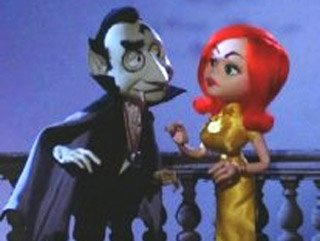 "Dracula and Francesca in ""Mad Monster Party?"""